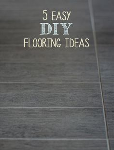How to stain concrete floors a step by step guide on how to do 5 easy diy flooring ideas solutioingenieria Images