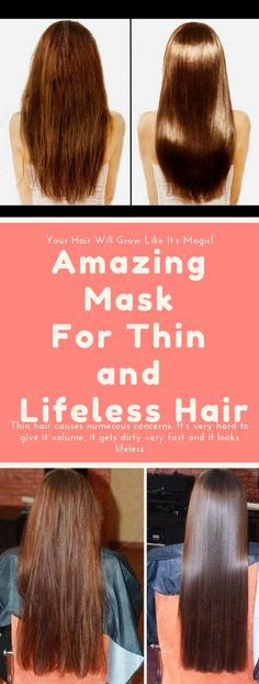 Amazing Mask For Thin and Lifeless Hair... Need to know!!!! !!!