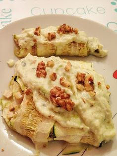 Mañana empiezo: Lasaña de calabacín rellena de puerros, manzana y tofu