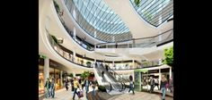 Vizuál pracovní budky v prostředí nákupního centra ve spolupráci s Microsoft, Xerox a dalších...