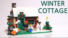 LEGO Creator Changing Seasons set: Winter Cottage stop motion build: https://youtu.be/cwnkvLqhWAw