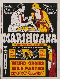 Marihuana 1936. Εικόνα: Movie Poster Image Art/Getty Images