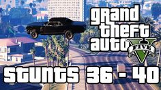 GTA V - Stunt Jumps 36-40 | Rockford Hills & Richman Gta 5, Grand Theft Auto 5, Gta Online, Rich Man, Seoul, Videogames, Ps4 Games, Memes, Funny