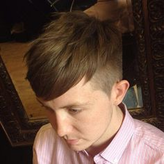 #Undercut worn down, nice and soft.  Credit to - http://iconosquare.com/viewer.php#/detail/775979827344768099_564214158  #undercuts #undercuthairstyle #menshair #menshaircuts #haircuts #coolhair