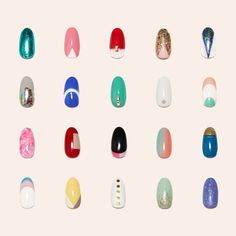 Our 22 new designs from our spring and summer collection #paintboxmani #nailart