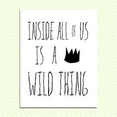 Where the Wild Things Are Wall Art Print