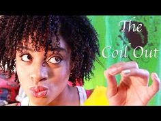 The Coil Out Tutorial *Natural Hair* - YouTube