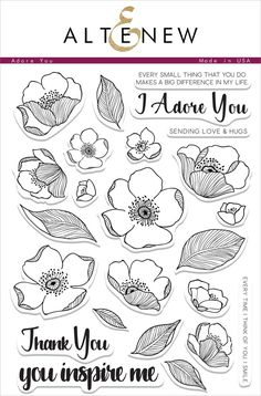 Illustrated by: May Sukyoung Park With hand-drawn floral images and elegant sentiments, this delicate set of peony flowers has many elements that can be used to build gorgeous floral designs. You can