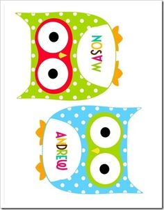 Classroom labels. I want to use these in the kids