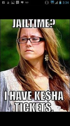 Can't go to jail..must go to Kesha concert!