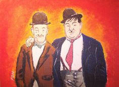 Laurel and Hardy by LetMeBeFrank1972.deviantart.com on @DeviantArt