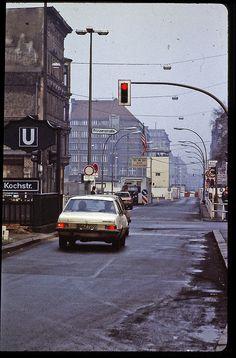 Berlin - February 1982 - Checkpoint Charlie by LimitedExpress, via Flickr