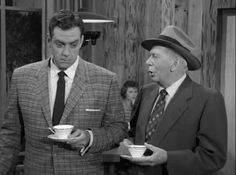 Perry Mason with the great Ray Collins as Lt. Tragg.