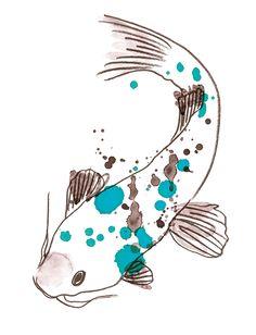 KOI, Japanese Good luck fish.