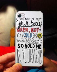 Ed Sheeran Lyric Quote - 50L4RI5 4/4s,5/5s/5c, Samsung Galaxy s3/s4 Case