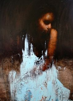 Mark Demsteader Study for The Calling, oil on canvas, 32ins x 24ins. 5200