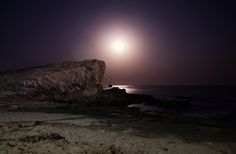 https://flic.kr/p/EVa6m5 | Moon rise from Diu | First day at Diu ended brilliantly.