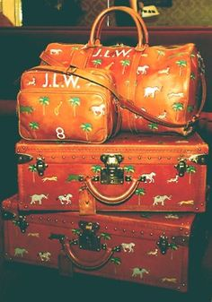 Louis Vuitton Luggage from Darjeeling Limited