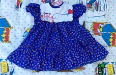 1980s Heart Dress 2T by lishyloo on Etsy
