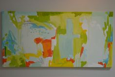 """24"""" X 48"""" OIL BY LUCY WILLIAMS-SOLD"""