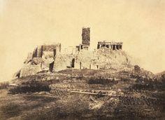 ΔΥΤΙΚΑ ΑΚΡΟΠΟΛΗΣ & Φράγκικος πύργος, 1865
