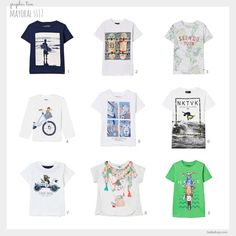 Mayoral SS17 Graphic Tees (always good for layering)