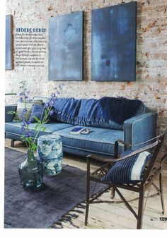 VT WONEN nr 10 - Autumn blues, location: Raw Materials