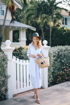 Little Blonde Book A Fashion Blog by Taylor Morgan: Golden Hour in Palm Beach
