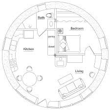 Nice Plan Maison Hobbit that you must know, You?re in good company if you?re looking for Plan Maison Hobbit The Plan, How To Plan, Round House Plans, House Floor Plans, Bedroom Layouts, House Layouts, Bedroom Designs, Earth Bag Homes, Silo House