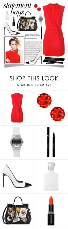 """""""How to wear a Blazer Style Dress!"""" by disco-mermaid ❤ liked on Polyvore featuring Alexander McQueen, Sisley, Tom Ford, Creed, Dolce&Gabbana, Smashbox, WorkWear, Summer, Heels and Sexy"""