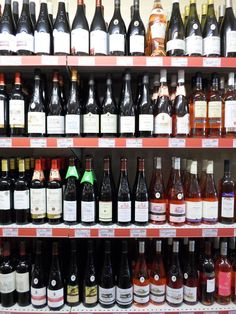 Just look at the ranges of wines stocked by our village epicerie!  #shoplocal #France #frenchholiday #greatlitlleshop #LoireValley