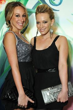 Congratulations to Hilary Duff and Haylie Duff!!