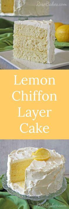 Lemon Chiffon Layer