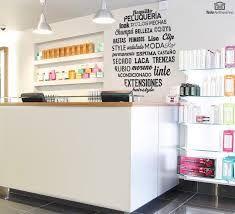 Resultado de imagen para peluquerias decoracion en vinil