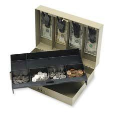 Sparco Metal Blend Lock Funds Box