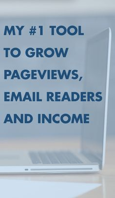 My absolute best tool to grow your blog, make more money, increase pageviews and more!