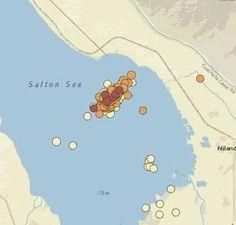 Source de cette nouvelle : Earthquake Advisory Issued For Southern California After Salton Sea Quake Swarm Traduction de cet article : LOS ANGELES (CBSLA.com) – Un essaim de séismes qui ont secoué la région de Salton Sea plus tôt cette semaine a augmenté...