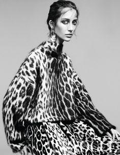 2014. Vogue Netherlands. Model Alana Zimmer. Photo by Alique