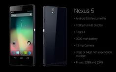 Android KitKat And Nexus 5 May Arrive Next Month - Google made a lot of headlines when it recently confirmed the name of its upcoming Android 4.4 as KitKat. Reports have it now that the search giant may unveil its new handset, Nexus 5, as well as Android KitKat in October this year.