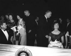 AR7670-F. President John F. Kennedy and First Lady Jacqueline Kennedy Attend the Second Inaugural Salute to the President - John F. Kennedy Presidential Library & Museum