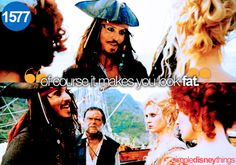 """""""And all of this pales to utter insignificance in light of the fact that my ship is once again gone. Savvy?"""""""