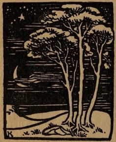 """Norse fairy tales Illustrated by Reginald L. Knowles & Horace J. Knowles   """"Thou Moon, Thou Moon,"""" she screamed"""