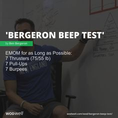 EMOM for as Long as Possible: 7 Thrusters lb); 7 Pull-Ups; Wod Workout, Workout Memes, Gym Workouts, At Home Workouts, Killer Bicep Workout, Biceps Workout, Health Fitness, Fitness Memes, Funny Fitness