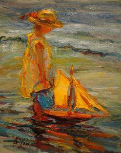 """The Blue Bucket"" By Diane Leonard"