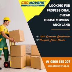 CBD Movers offers stress-free and safe house removals, home moving services at cheap prices. Choose us for cheap house movers in Auckland. Call at 0800 555 207 to book! Office Movers, House Removals, Local Movers, House Movers, Cheap Houses, Moving And Storage, Moving Services, Furniture Movers, Good House