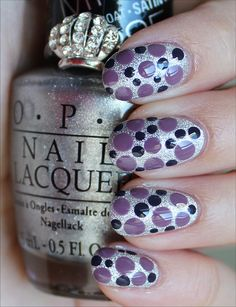 Dotticure using all 3 shades in the OPI Miss Universe 2013 Collection! (Click through to see more swatches!)