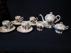 RARE - antique - GERMAN - BUSTER BROWN CHILDS TEA SET PORCELAIN | eBay