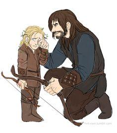 Kili and his nephew