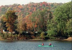 Canoe trip on the Delaware River