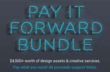 Get a value of $4,500 for design stuff by donating however much you wish to Watsi, an organization for healthcare for people around the world